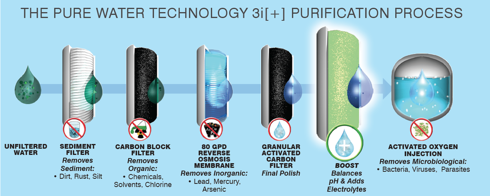 The Pure Water Purification Process